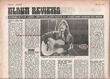 MELANIE The Good Book album review 1971 UK ARTICLE / clipping