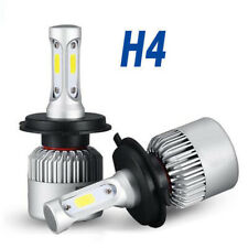 2x H4 9003 200W 20000LM 6000K Car COB LED Conversion Headlight Bulb Hi/Lo Beam H