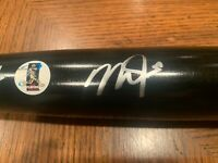 Steal at this price! Mike Trout Autographed Old Hickory Game Model Bat