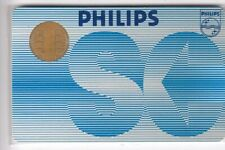 Test expo card card... France bull cp8 philips 2 ruwa-bell 1984 chip/Chipset