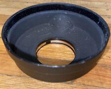 Mamiya Press Metal Lens Hood 90mm 100mm F3.5 Original Screw On Friction Lock