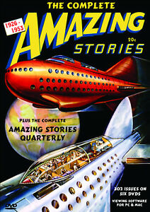 COMPLETE AMAZING STORIES 1926-1953 - 6 DVD Set