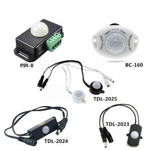 DC5V-24V 5A Infrared Motion Sensor Detector Switch PIR BC TDL Proximity Switch