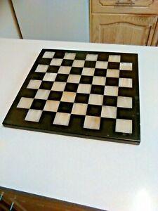 Vintage Black & White Onyx Chess Board (3158)
