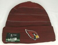 NFL Arizona Cardinals On Field Knit Hat Cuffed New Era Red One Size NWT