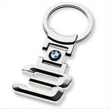 BMW 3 SERIES STAINLESS STEEL KEY RING CHAIN FOB KEYRING E30 E36 E46 E90 E92 E93