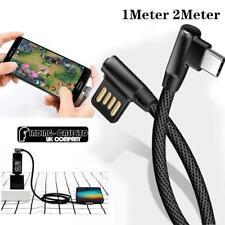 L flexion 90 ° TYPE C de chargement USB Câble De Chargeur Transfert De Données P...