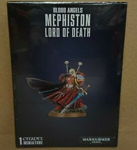 Warhammer 40k 41-39 Blood Angels MEPHISTON LORD OF DEATH NEW/SEALED