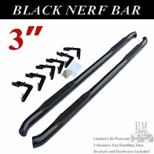 "For 2005-2018 TOYOTA TACOMA ACCESS EXTENDED CAB  3"" Black Nerf Bar Side Step"