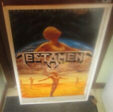 TESTAMENT POSTER LIVE NEW NEVER OPENED EARLY 90'S  COLLECTIBLE