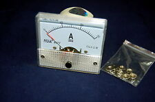 DC 30A Analog Ammeter Panel AMP Current Meter 85C1 0-30A DC directly Connect
