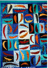 CLEARANCE - Gum Leaves in the Pool -  applique quilt PATTERN - Flying Fish