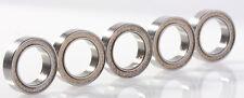 10x15x4mm Ball Bearings 5pc - 6700 2TS Bearings - PTFE Sealed 6700 Ball Bearings