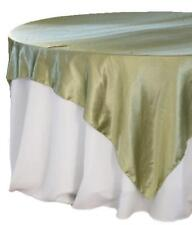 SATIN Table Overlays Many Colours -- FREE POSTAGE --