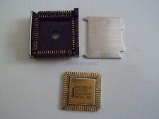 Intel C80186-3 CPU von 1985 8MHz 16bit 1MB 68-pin Ceramic LCC mit 3M Sockel*Neu*