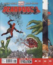 DEADPOOL #1,2,3,4,5 & 6 Marvel Comics Gerry Duggan Brian Posehn DEAD PRESIDENTS