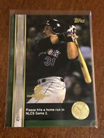 2000 World Series Topps Baseball Base Card #60 - Mike Piazza - New York Mets