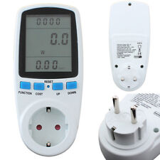 DANIU Energy Meter Watt Volt Voltage Electricity Monitor Analyzer