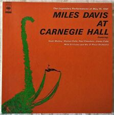 MILES DAVIS AT CARNEGIE HALL JAPAN CD PAPERSLEEVE MINI LP