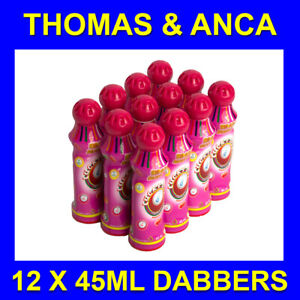 12x 45ml Purple Bingo Dabbers / Dauber / Markers for Bingo Tickets