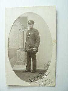 Postcard by Harrie Belben of Poole Royal Engineer Soldier called Billy in 1918