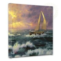 Thomas Kinkade Perseverance 14 x 14 Gallery Wrapped Canvas