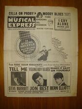 NME #944 1965 FEB 5 MOODY BLUES CILLA PROBY JON BEST