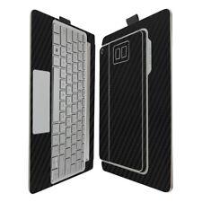 Skinomi Carbon Fiber Skin & Screen Protector HP Envy 8 Note Tablet & Keyboard