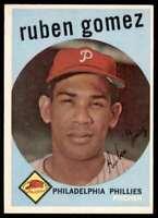 1959 Topps Ruben Gomez Philadelphia Phillies #535