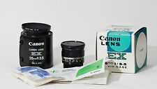 CANON EX 35mm 3,5 OVP TOP! Nr.147