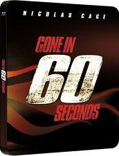 NUR NOCH 60 SEKUNDEN (Nicolas Cage) Blu-ray Disc, Steelbook U.K. NEU+OVP