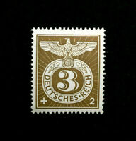MNH 1943 WWII Era Stamp Germany Imperial Eagle & TR Party Emblem