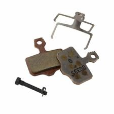 Componentes y piezas marrón de aluminio para bicicletas