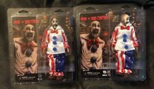 Lot of 2! Neca Captain Spaulding Action Figures - House of 1000 Corpses Sid Haig