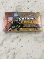🔥 (1) 2000 Bowman Chrome Football Sealed Hobby Box 24 Packs Tom Brady Refractor