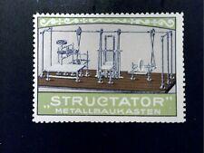 Cinderella Poster Stamp Reklamemarke - Structator/Erector Advertising 18720