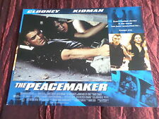 THE PEACEMAKER  - NICOLE KIDMAN - GEORGE CLOONEY - LOBBY CARD 11X14 -#5