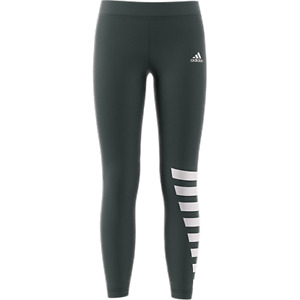 adidas ID Tights - Grey Youth Tights Legend Ivy / White DV0308 Size S, M