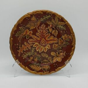 Toyo by Raymond Waites Decorative Plate Charger Dish brown Raymond waites