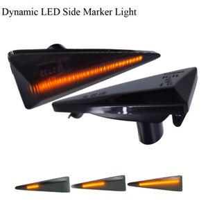 Sequential LED Side Marker Light For Renault Megane Satis Avantime Espace Scenic