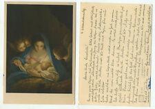 03489 - Carlo Maratta: La Santa Notte - alte Ansichtskarte