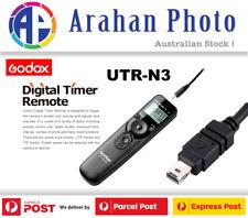 Godox UTR-N3 LCD Digital Timer Remote for Nikon D7000, D7100, D7200, etc