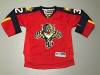 Kris Versteeg #32 Florida Panthers NHL Sewn Reebok Hockey Jersey Youth Size S/M