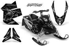 Ski-Doo Rev XP Decal Graphic Kit Sled Snowmobile Sticker Wrap 08-12 NIGHTWOLF S