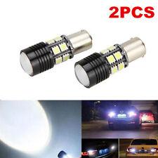 2x Canbus No Error 1156 BA15S P21W LED Car Tail Backup Reverse Bulb Light White