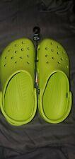 Crocs Shoes M6W8 Lime Green NWT
