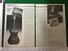 Fender Lead 1 electric guitar 1980 magazine article