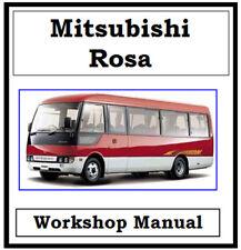 MITSUBISHI FUSO ROSA BUS 2002-2010 BE BE6 WORKSHOP MANUAL DIGITAL DOWNLOAD