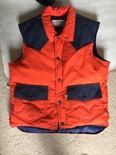 Ski Levi's Goose Down Filled Winter Bomber Vest Vintage Jacket 1970's retail 150