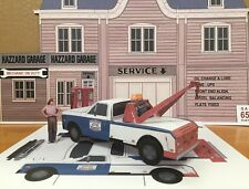 Papercraft Dukes of Hazzard Cooter GMC tow truck Paper Model 7 piece U-build